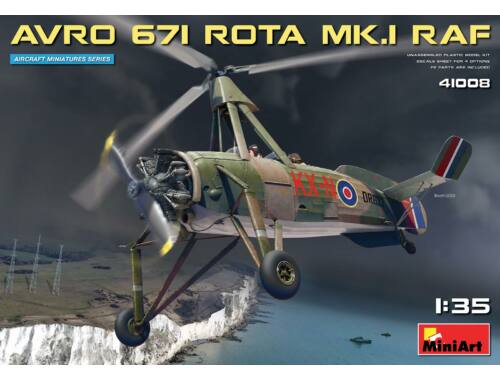 MiniArt Avro 671 Rota Mk.I RAF 1:35 (41008)