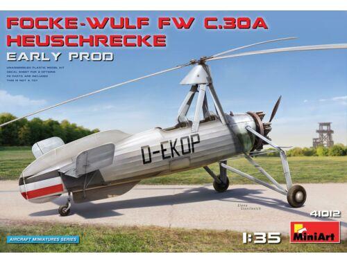 MiniArt Focke-Wulf Fw C.30A Heuschrecke. Early Prod 1:35 (41012)