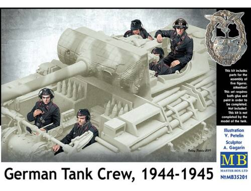 Master Box German Tank Crew 1944-1945 1:35 (35201)
