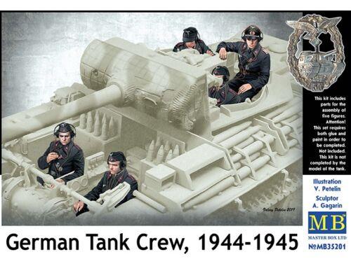 Master Box German Tank Crew 1944-1945 1:35 (35201)