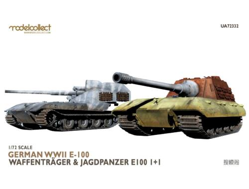 Modelcollect German WWII E-100 waffentrager