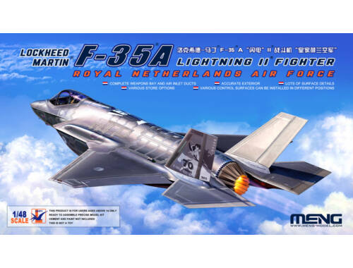 MENG Lockheed Martin F-35A Royal Netherland AirForce 1:48 (LS-011)