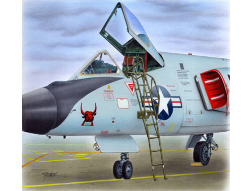 Plus model Ladder for F-106 1:48 (AL4084)