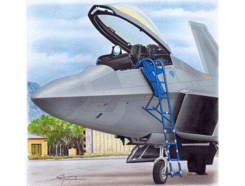 Plus model Ladder for F-22 1:48 (AL4085)