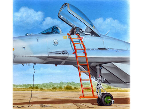 Plus model Ladder for MiG-29 1:48 (AL4087)