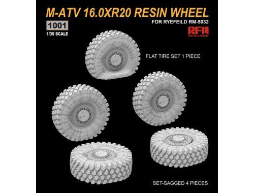 Rye Field Model M-ATV 16.0XR20 RESIN WHEEL 1:35 (1001)
