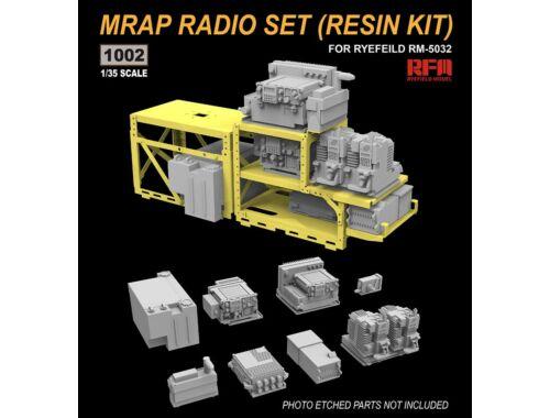 Rye Field Model MRAP RADIO SET (RESIN KIT) 1:35 (1002)