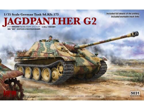 Rye Field Model JAGDPANTHER G2 W/ Full Details and Workable Track 1:35 (5031)