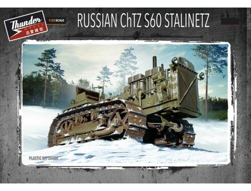 Thundermodels Russian ChTZ S60 Stalinetz Tractor 1:35 (35400)