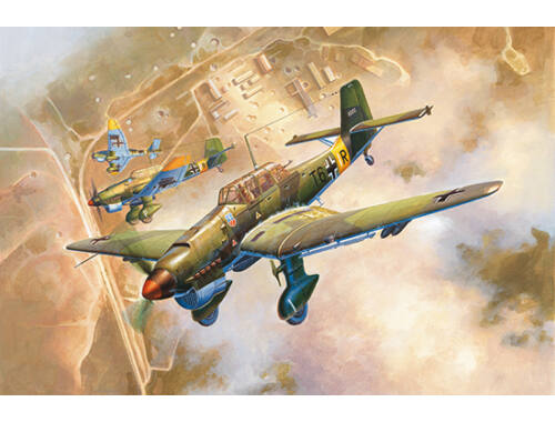 Trumpeter Junkers Ju-87B-2 Stuka 1:24 (2421)