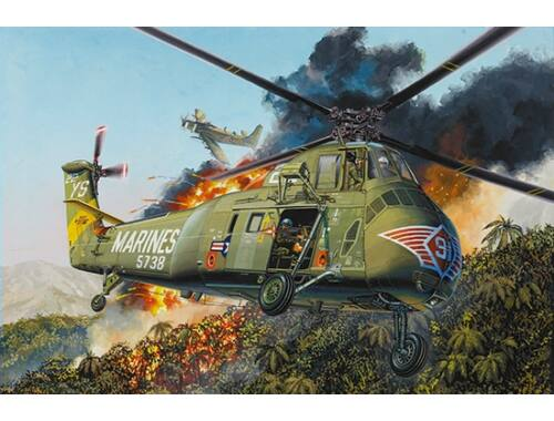 Trumpeter H-34 US MARINES - Re-Edition 1:48 (02881)