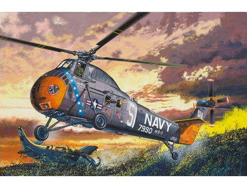 Trumpeter H-34 US NAVY RESCUE - Re-Edition 1:48 (02882)