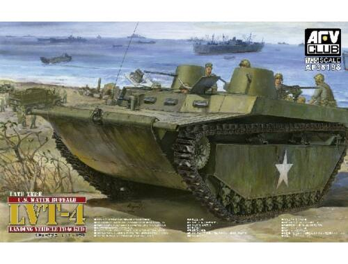 AFV Club US. Water Buffalo LVT-4 Late Type 1:35 AF35198