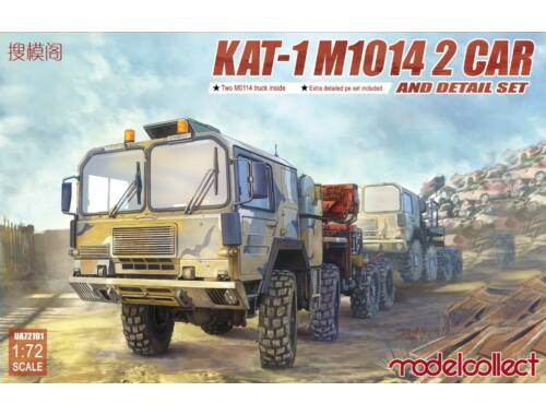 Modelcollect KAT-1 M1014 2 car and detail set 1:72 (UA72191)