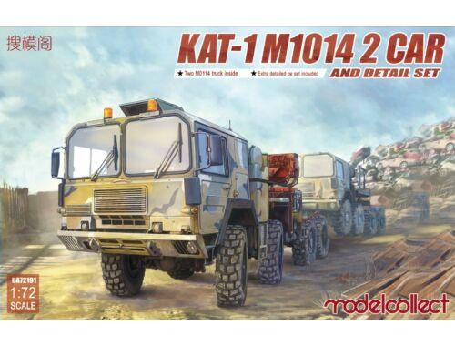 Modelcollect KAT-1 M1014 2 car and detail set 1:72 (UA72191)
