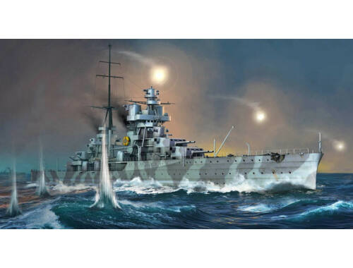 Trumpeter Italian Heavy Cruiser Fiume 1:350 (5348)