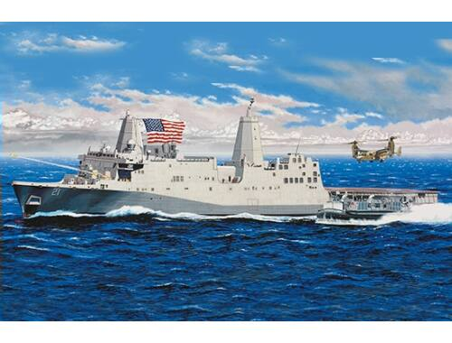 Trumpeter USS New York (LPD-21) - Re-Edition 1:350 (05616)