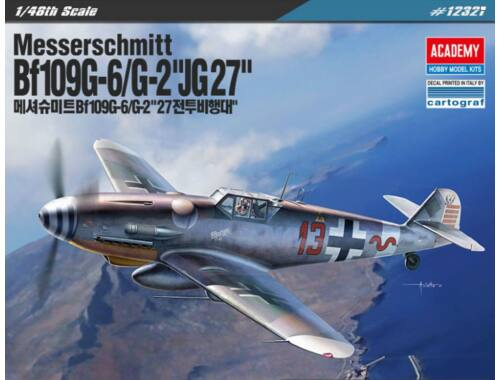 Academy Messerschmitt Bf109G-6/G-2 JG-27 1:48 (12321)
