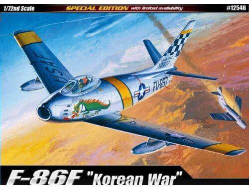 Acadeny USAF F-86F Korean War 1:72 (12546)