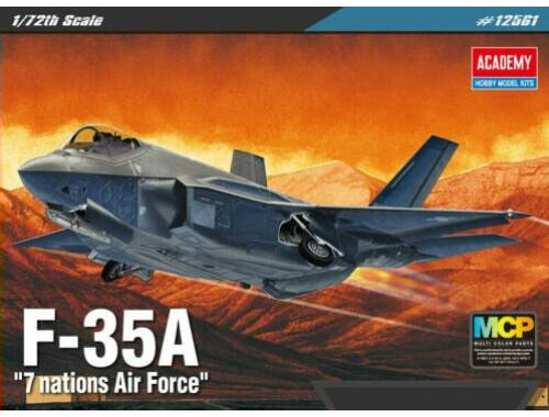 Academy F-35A 7 nations Airforce 1:72 (12561)