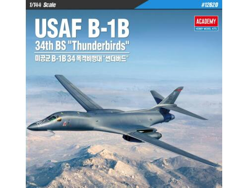 Academy USAF_B-1B 34th BS Thunderbirds 1:144 (12520)