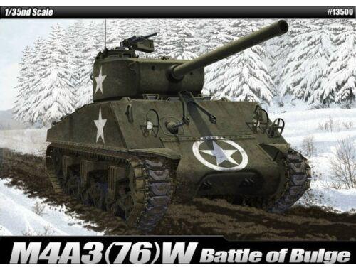 Academy M4A3(76)W US Army Battle of Bulge 1:35 (13500)