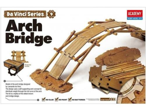 Academy Da Vinci Arch Bridge (18153)