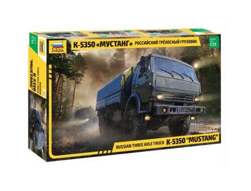 Zvezda K-5350 Mustang Russian Truck 1:35 (3697)
