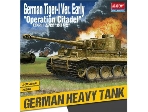 Academy Tiger I Early Ver. Operation Citadel 1:35 (13509)