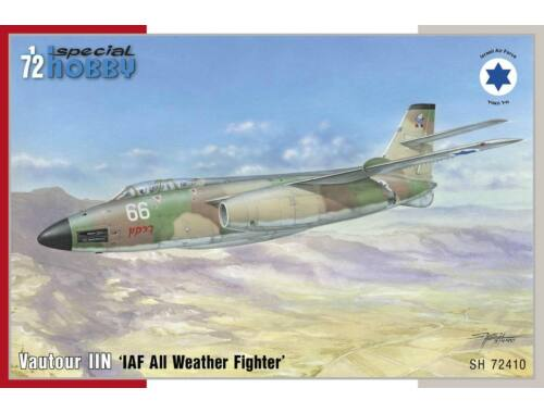 Special Hobby S.O. 4050 Vautour IIN IAF All Weather Fighter 1:72 (72410)