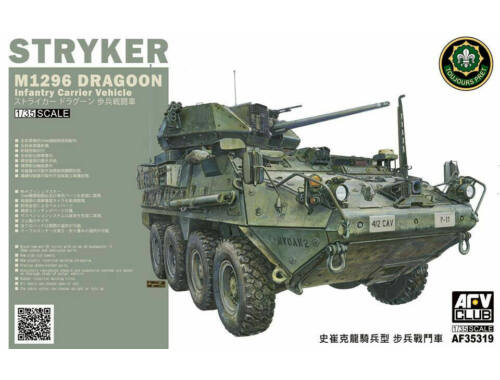 AFV-Club M1296 Stryker Dragoon Infantry Fighting Vehicle 1:35 (AF35319)