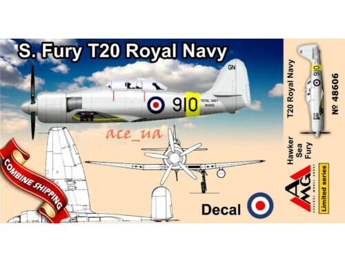 AMG Sea Fury T.20 1:48 (48606)