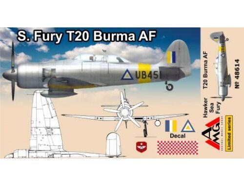 AMG Sea Fury T.20 Burma 1:48 (48614)