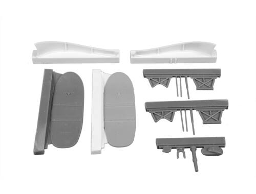 CMK Blenheim Mk.II Finish AF Retractable Ski Undercarriage 1:48 (129-4384)