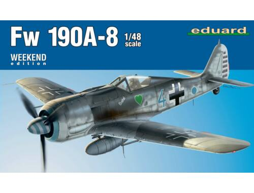 Eduard Fw 190A-8 Weekend Edition 1:48 (84122)