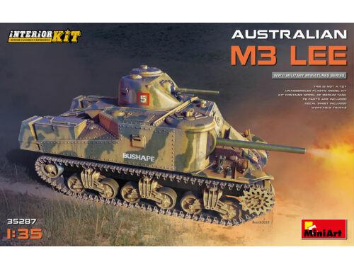 MiniArt Australian M3 Lee. Interior Kit 1:35 (35287)
