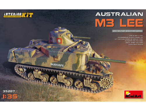 MiniArt Australian M3 Lee. Interior Kit 1:35 (35287)