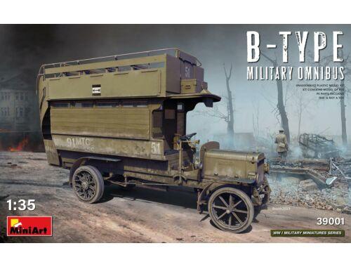 MiniArt B-Type Military Omnibus 1:35 (39001)