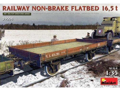 MiniArt Railway Non-brake Flatbed 16,5 t 1:35 (39004)