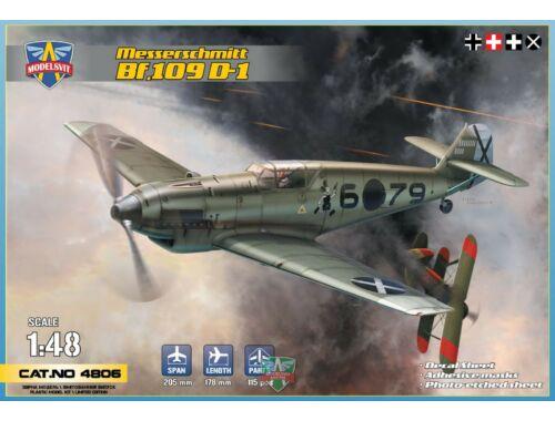 Modelsvit Messerschmitt Bf 109 D-1 1:48 (4806)