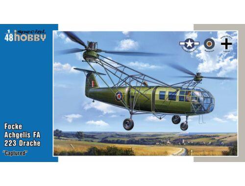 Special Hobby Focke Achgelis FA 223 Drache Captured 1:48 (48201)