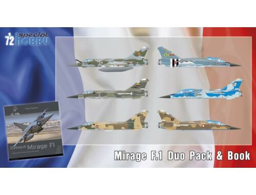 Special Hobby Mirage F.1 Duo Pack