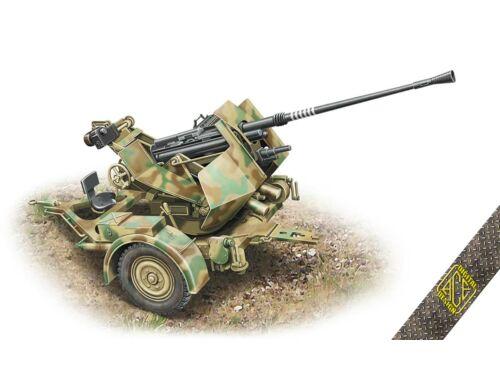ACE Flak.36 3.7cm. AA gun with Sd.Ah.52 carriage trailer 1:72 (72570)