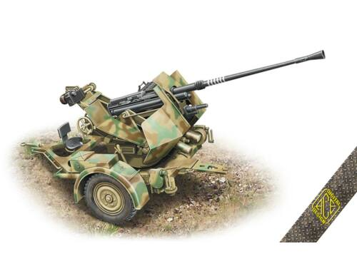 ACE Flak.36  3.7cm. AA gun with Sd.Ah.52 carriage trailer 1:72 (72570)
