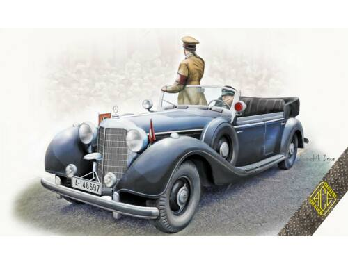 ACE Typ 770K armored cabrio for Reichskanzler 1:72 (72577)