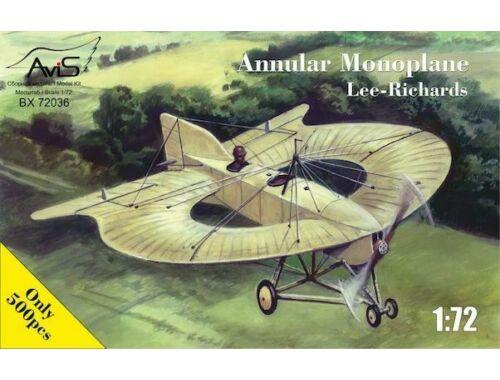 Avis Lee-Richards Annular monoplane 1:72 (AV72036)