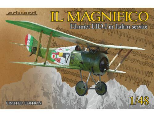 Eduard IL MAGNIFICO Hanriot HD.I in Italian service, Limited Edition 1:48 (11139)