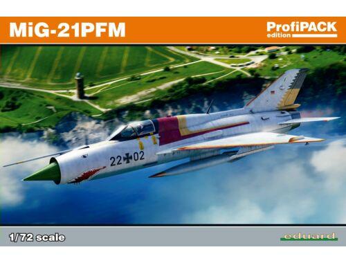 Eduard MiG-21PFM Profipack 1:72 (70144)