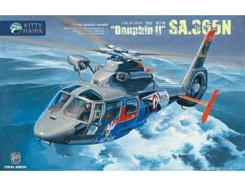 Kitty Hawk Sa.365N Dauphin II 1:48 (80107)
