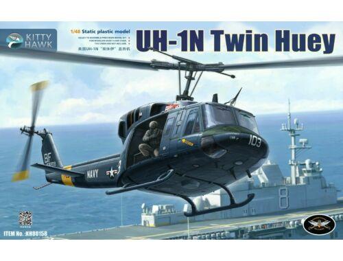 Kitty Hawk UH-1N Twin Huey 1:48 (80158)